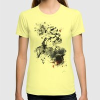 The Chosen One Womens Fitted Tee Lemon SMALL