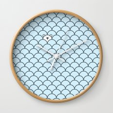 The Last Polar Bear Wall Clock