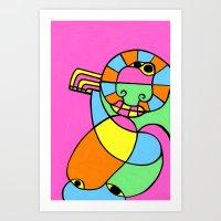 Print #17 Art Print