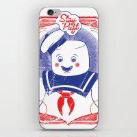 STAY PUFFT iPhone & iPod Skin