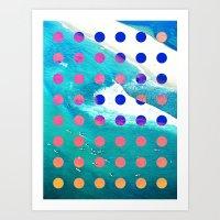 SURF SAFARI Art Print
