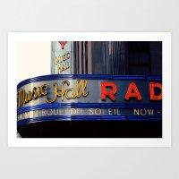 Radio City Music Hall NY… Art Print