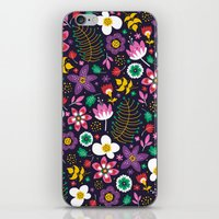 Sweet Viola iPhone & iPod Skin