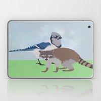 Mordecai and Rigby Laptop & iPad Skin