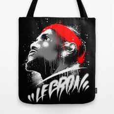 Lebron J Tote Bag