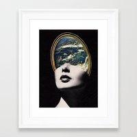 World In Your Mind Framed Art Print