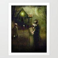 When the Dead Come Home Art Print