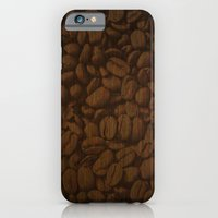 iPhone & iPod Case featuring Coffee Bean by DavidK