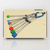 Rock Climbing Wires iPad Case