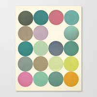 Circles I Canvas Print