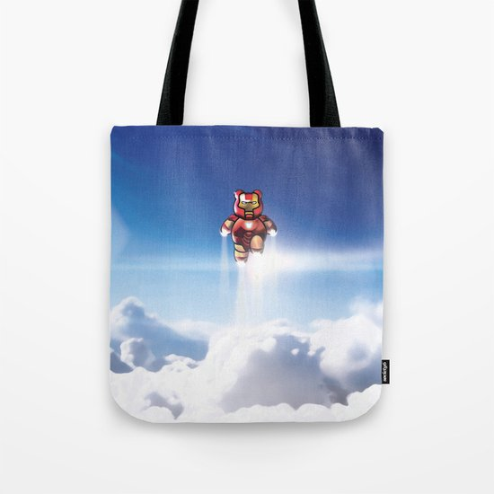 Super Bears - ACTION! the Invincible One Tote Bag