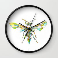 Insect Series - Hornet Wall Clock