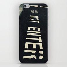 D O . N O T . E N T E R iPhone & iPod Skin
