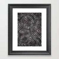 Di-simetrías 3 Framed Art Print