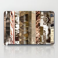 Brown Intersections iPad Case