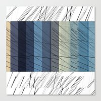 Canvas Print featuring Blues Arrangement by Piccolo Takes All