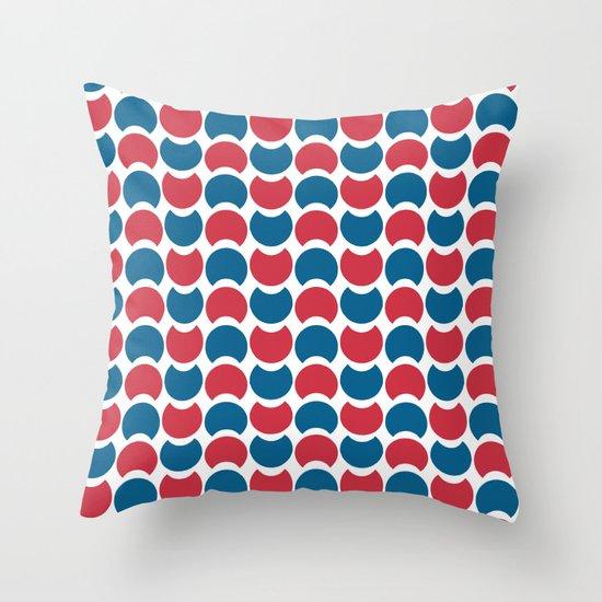 Hob Nob America Throw Pillow