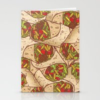 Burritos Stationery Cards