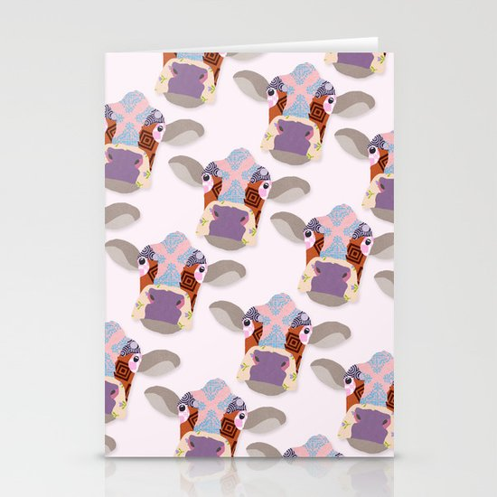 Cow Stationery Card