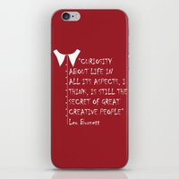 QUOTE-3 iPhone & iPod Skin