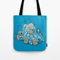 LATE NIGHT READINGS Tote Bag