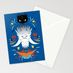 Trained Dragons Stationery Cards