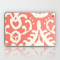 Ikat in coral  Laptop & iPad Skin