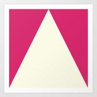 Color Block V 1.4 Art Print
