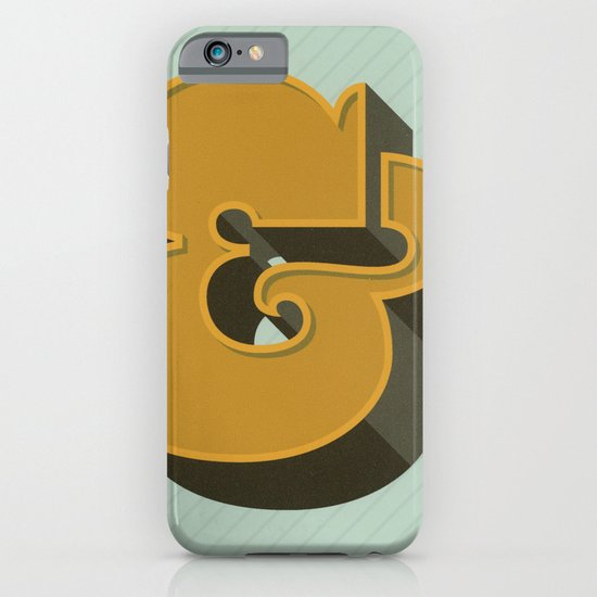 Heavy Ampersand iPhone & iPod Case