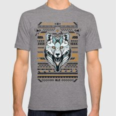 BLN Mens Fitted Tee Tri-Grey SMALL