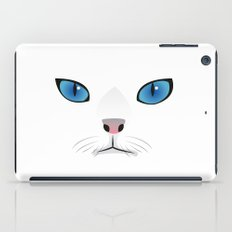 Little white cat iPad Case