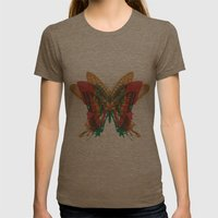 Butterfly Rorschach, Ya Know, For Kids! Womens Fitted Tee Tri-Coffee SMALL