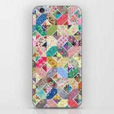 Betty's Diamond Quilt iPhone & iPod Skin