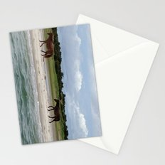 Caribbean, Rock Formation, Indians, Brittish Virgin Islands Stationery Cards