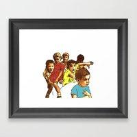 Primary School Framed Art Print