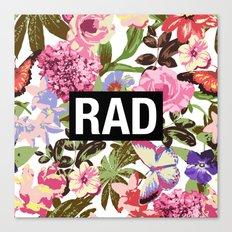 RAD Canvas Print