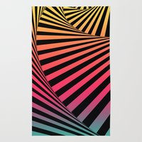 Summer Sunset Twista  Rug