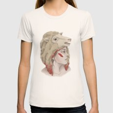 We Are Sheep Womens Fitted Tee Natural SMALL