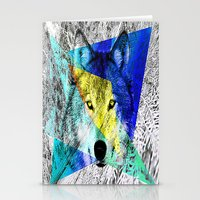 Wolf Design  Stationery Cards