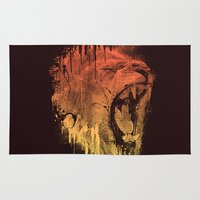 FIERCE LION Rug