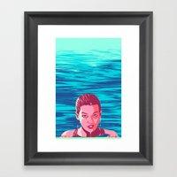 Flaqueza Framed Art Print