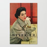 1953 Fall/Winter Catalog Canvas Print