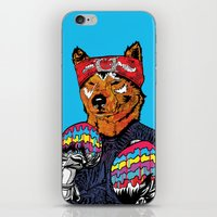 Shiba - The Hustler  iPhone & iPod Skin