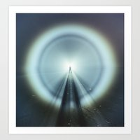 Shadow of Light Art Print