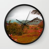 Wall Clock featuring Heaven by Kakel-photography