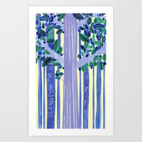 In The Wood Art Print