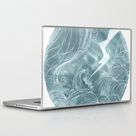 The Wave In A Bubble Laptop & iPad Skin