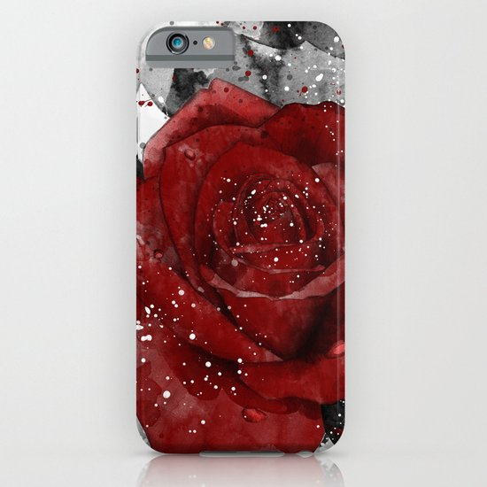 Crimson iPhone & iPod Case