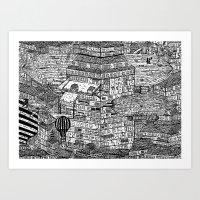 クラッタ市 2 Art Print