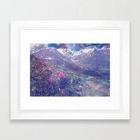 Cosmic Landscape Framed Art Print